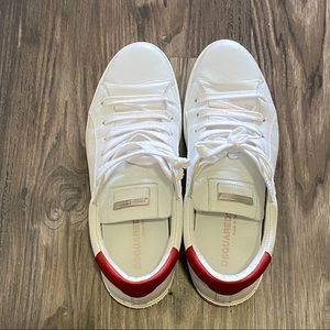 DSquared2 Mens All White Sneakers
